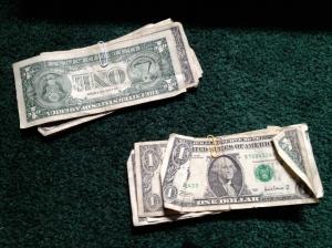 paper clip money